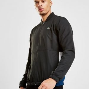 Lacoste Pocket Panel Track Top Musta