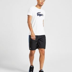 Lacoste Side Panel Shorts Musta