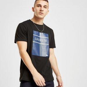 Lacoste Tennis T-Shirt Musta