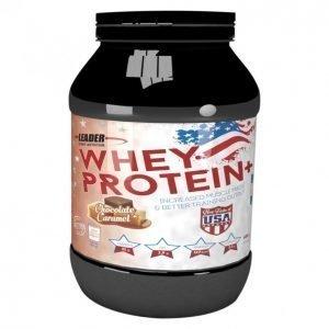 Leader Whey Protein+ Proteiinijauhe 600 G Suklaa-Karamelli