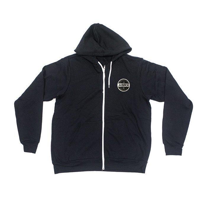 Life As RX Men's Premium Zip Hoddie Black XL