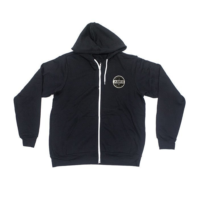 Life As RX Men's Premium Zip Hoddie Black