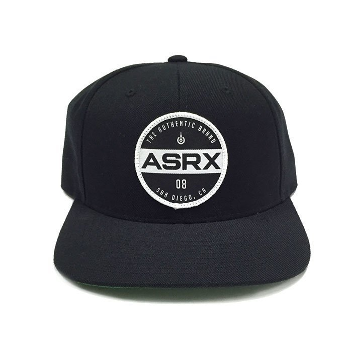 Life As RX Plate Snapback Hat Black OS