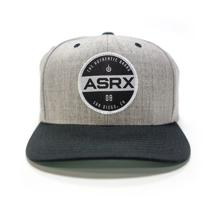 Life As RX Plate Snapback Hat Grey OS