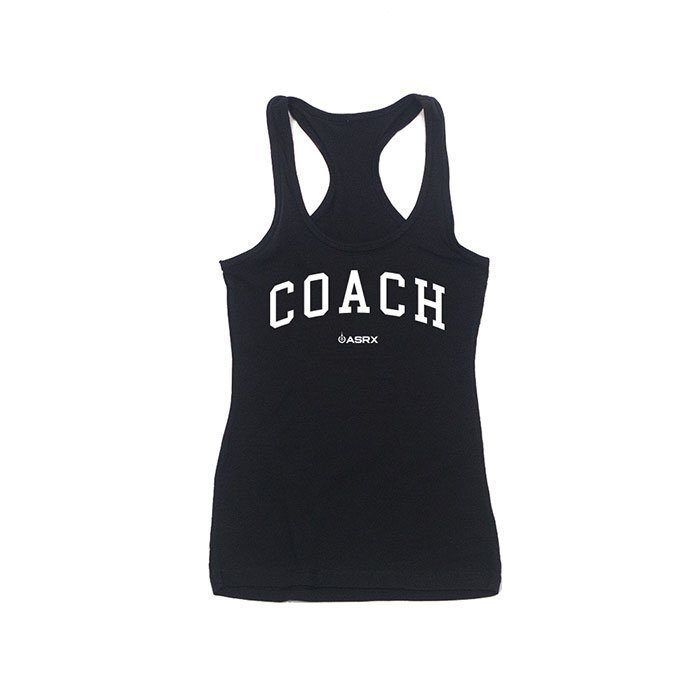 Life As RX Womens Coach Tank Black
