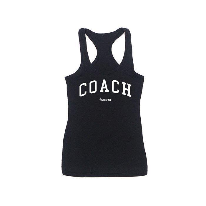 Life As RX Womens Coach Tank Black