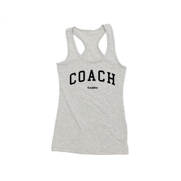 Life As RX Womens Coach Tank Grey L