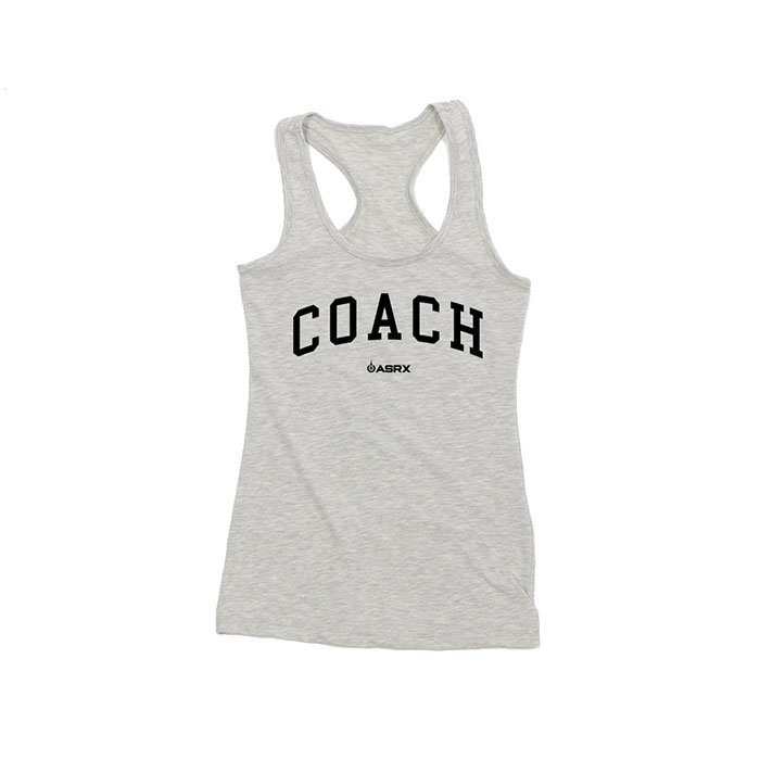 Life As RX Womens Coach Tank Grey S