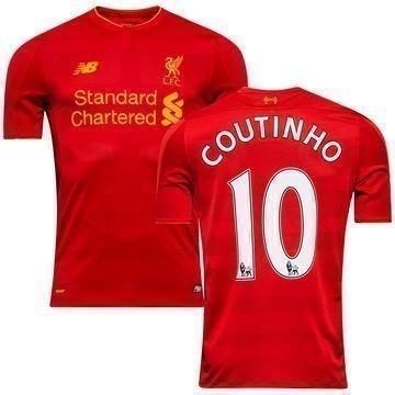 Liverpool Kotipaita 2016/17 COUTINHO 10 Lapset