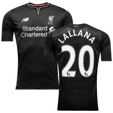 Liverpool Vieraspaita 2016/17 LALLANA 20 Lapset