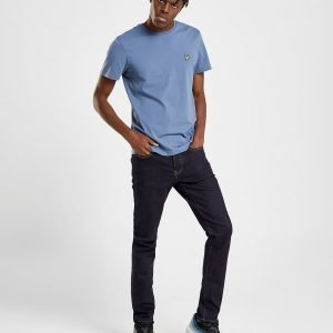 Lyle & Scott 5 Pocket Slim Jeans Sininen