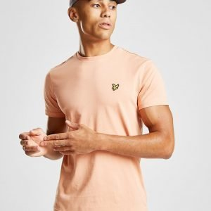 Lyle & Scott Crew Neck Short Sleeve T-Paita Coral