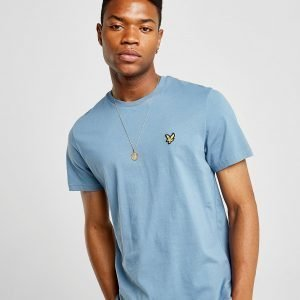 Lyle & Scott Crew Neck Short Sleeve T-Paita Sininen