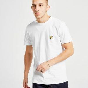 Lyle & Scott Crew Neck Short Sleeve T-Paita Valkoinen