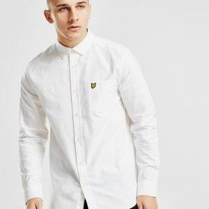 Lyle & Scott Long Sleeve Oxford Shirt Valkoinen