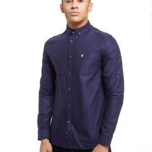 Lyle & Scott Oxford Long Sleeve Paita Laivastonsininen