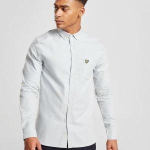 Lyle & Scott Oxford Long Sleeve Shirt Sininen