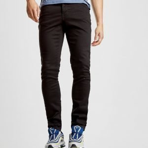 Lyle & Scott Slim Fit Denim Jeans Musta
