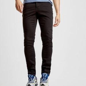 Lyle & Scott Slim Fit Denim Jeans Musta