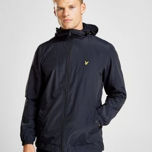Lyle & Scott Zip Through Hooded Core Jacket Sininen
