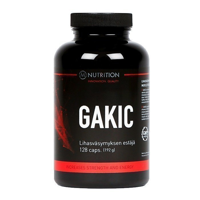 M-Nutrition Gakic 128 caps
