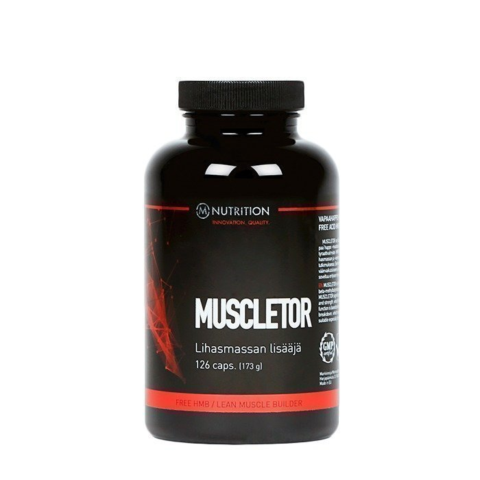 M-Nutrition Muscletor 126 caps