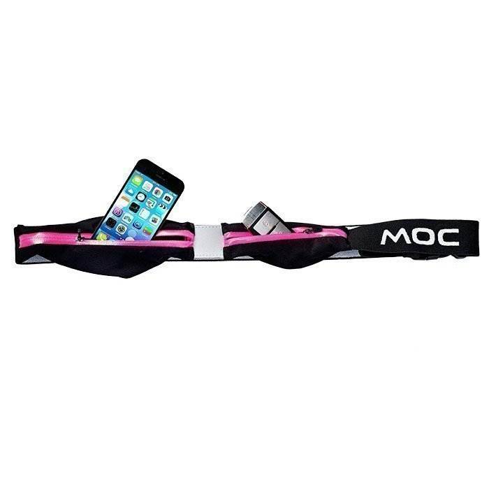 MOC Expandable 2Pocket for Iphone/Smartphone cerise
