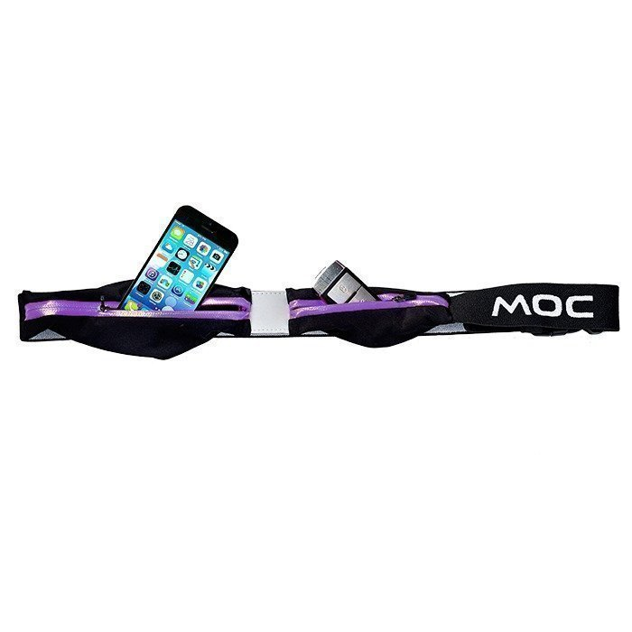 MOC Expandable 2Pocket for Iphone/Smartphone purple