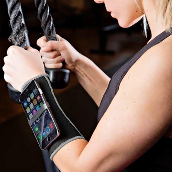 MOC Neoprene Underarm Black/Slip In Bag Iphone 6/Smartphone X-large