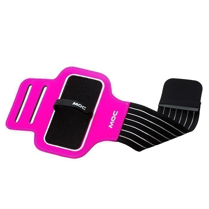 MOC Sport Armband cerise/Dust Zip Bag Iphone 5/Large black