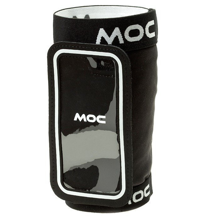 MOC Stretch Overarm black/Slip In Bag Iphone 6/Smartphones XL black