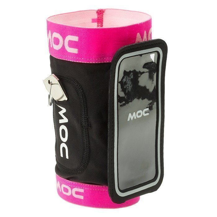 MOC Stretch Overarm cerise M-L/Slip In Bag Iphone 6 black XL