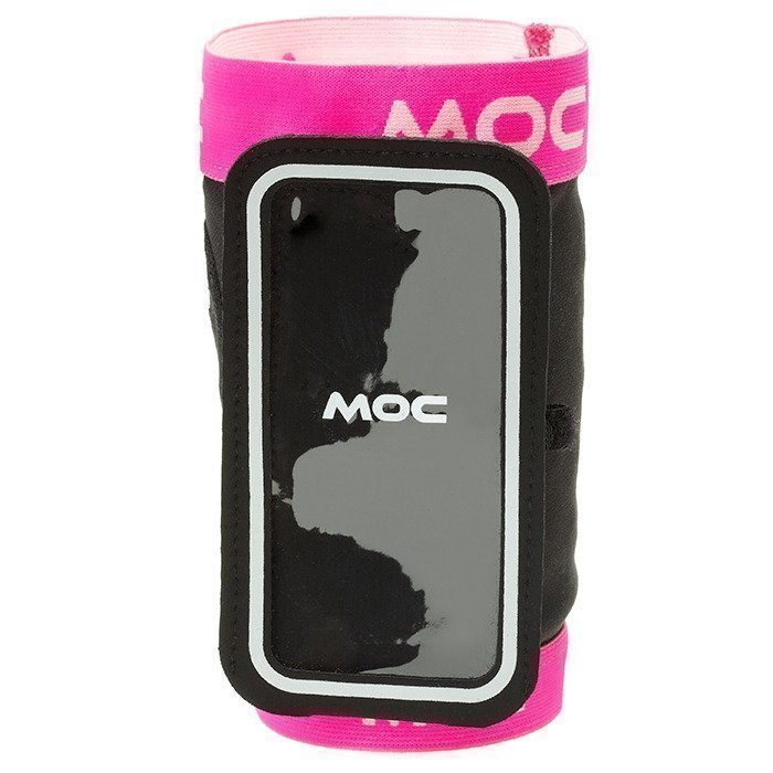 MOC Stretch Overarm cerise XS-S/Slip In Bag Iphone 5 black L
