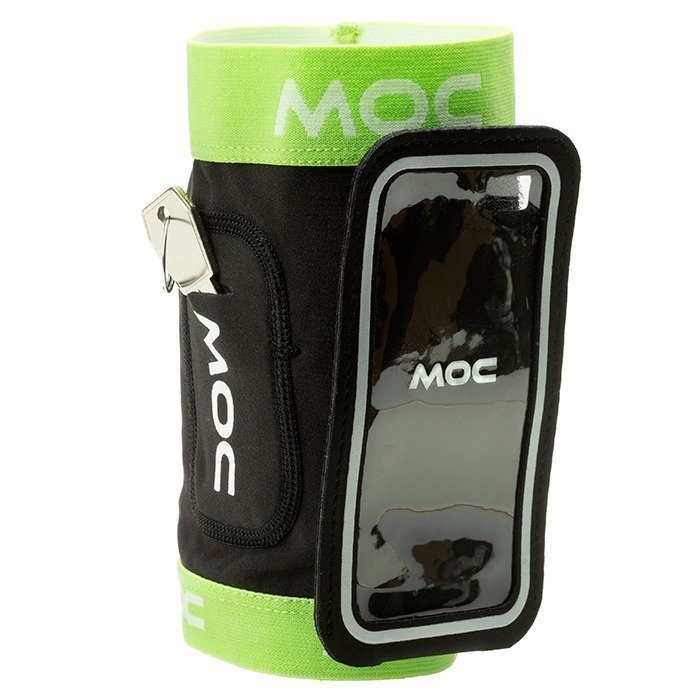 MOC Stretch Overarm lime M-L/Slip In Bag Iphone 5 black L