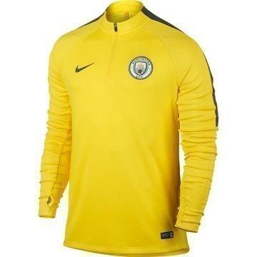 Manchester City Harjoituspaita Drill Top 1/4 Keltainen/Harmaa