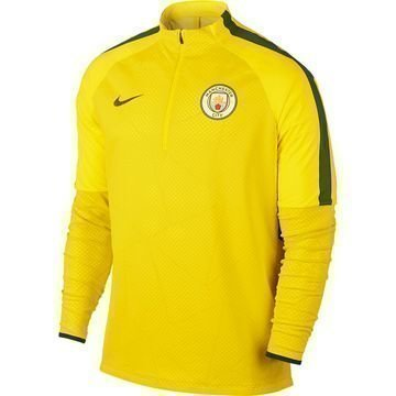 Manchester City Harjoituspaita Shield Strike Drill Keltainen/Harmaa