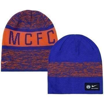 Manchester City Käännettävä Pipo Oranssi/Violetti