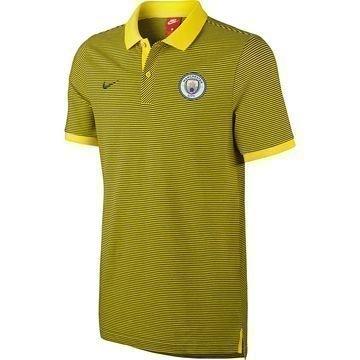 Manchester City Pikee Keltainen/Harmaa