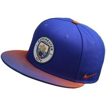Manchester City Seasonal True Snapback Violetti/Oranssi