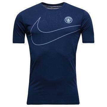 Manchester City T-paita Dry Pre Season Navy