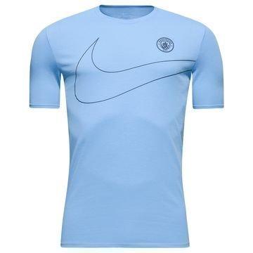 Manchester City T-paita Dry Pre Season Sininen