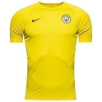 Manchester City Treenipaita Dry Keltainen/Harmaa Lapset