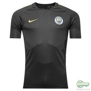 Manchester City Treenipaita Dry Musta/Keltainen Lapset