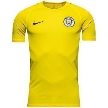 Manchester City Treenipaita Dry Top Keltainen/Harmaa