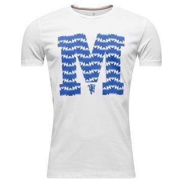 Manchester United T-paita Graphic Valkoinen/Sininen