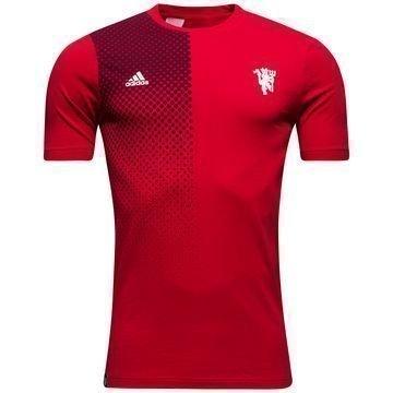 Manchester United T-paita Punainen/Valkoinen Lapset