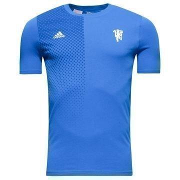 Manchester United T-paita Sininen/Valkoinen Lapset