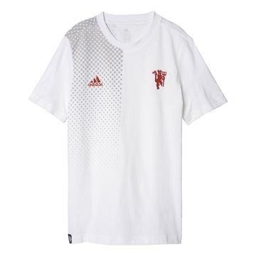 Manchester United T-paita Valkoinen/Punainen Lapset