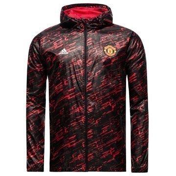 Manchester United Tuulitakki Musta/Punainen