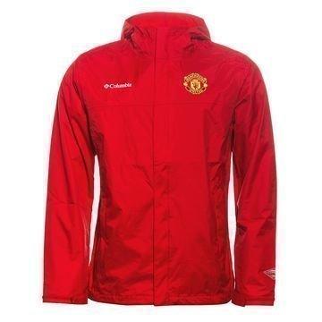 Manchester United x Columbia Sadetakki Watertight II Punainen